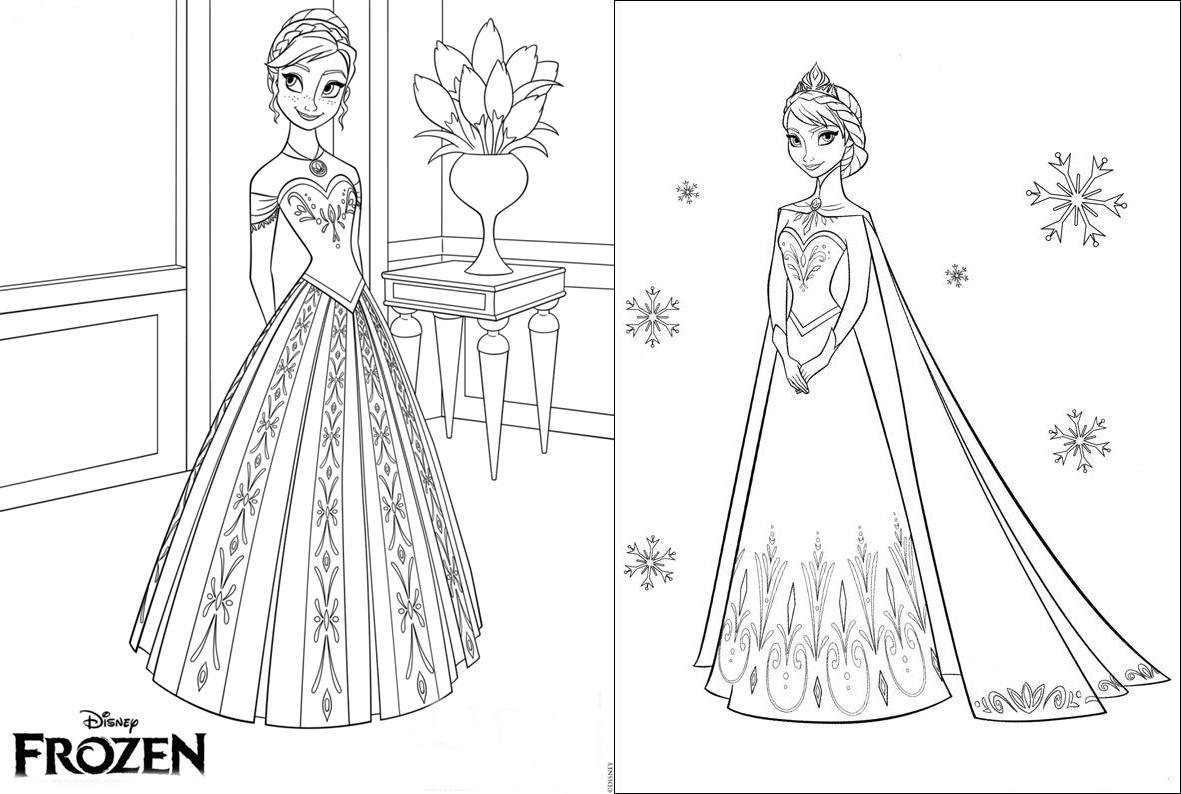 Desenho Da Frozen Para Colorir E Imprimir